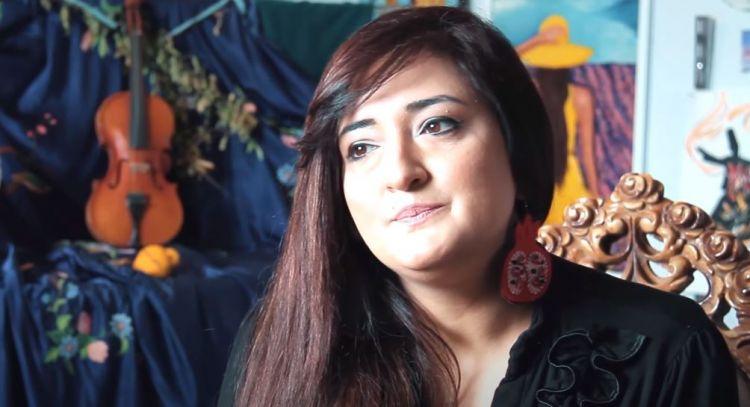 """""""AFA ART"""" studiyasının təsisçisi, Rəssam Afaq Həbibova"""
