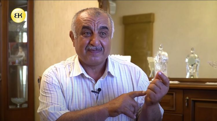 Novxanı ağsaqqalı Nuhbala Ağayev. Audio