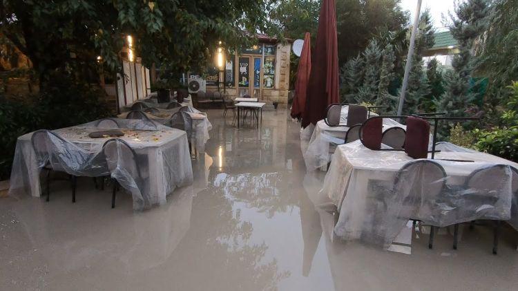 Maştağa kəndi yağışdan sonra VİDEO